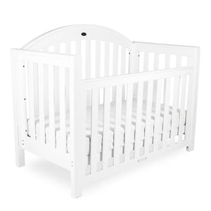 Grow With Me Classic Cot White