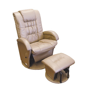 Manhattan Feeding Glider Chair & Ottoman