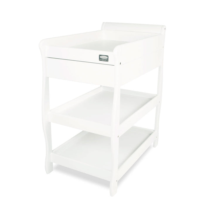 Amani Sleigh Change Table With Drawer