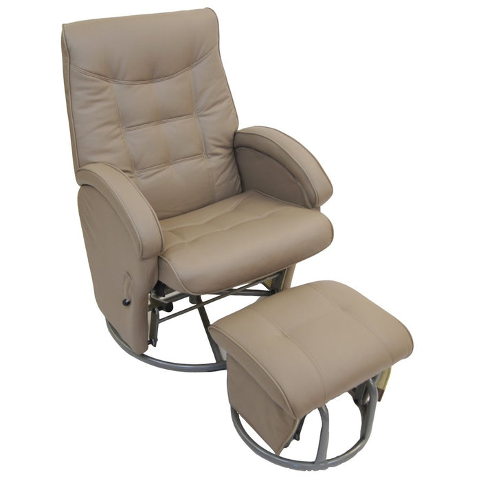 Diva Feeding Glider Chair & Ottoman