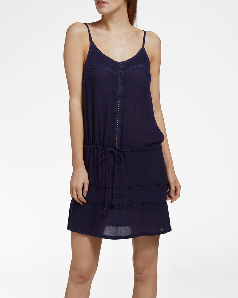 BEACH VIBES NAVY - Jurk