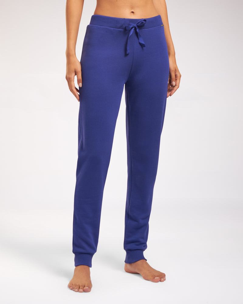 Cyell COLOR BLOCK BLUE Lange broek