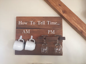 How to Tell Time: AM/PM