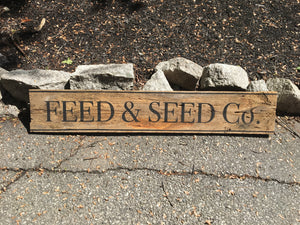 Feed and Seed co.