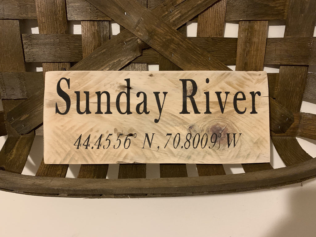 Sunday River Coordinates