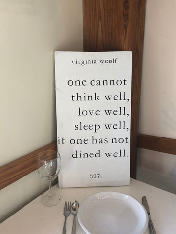 Virginia Woolf - Unframed