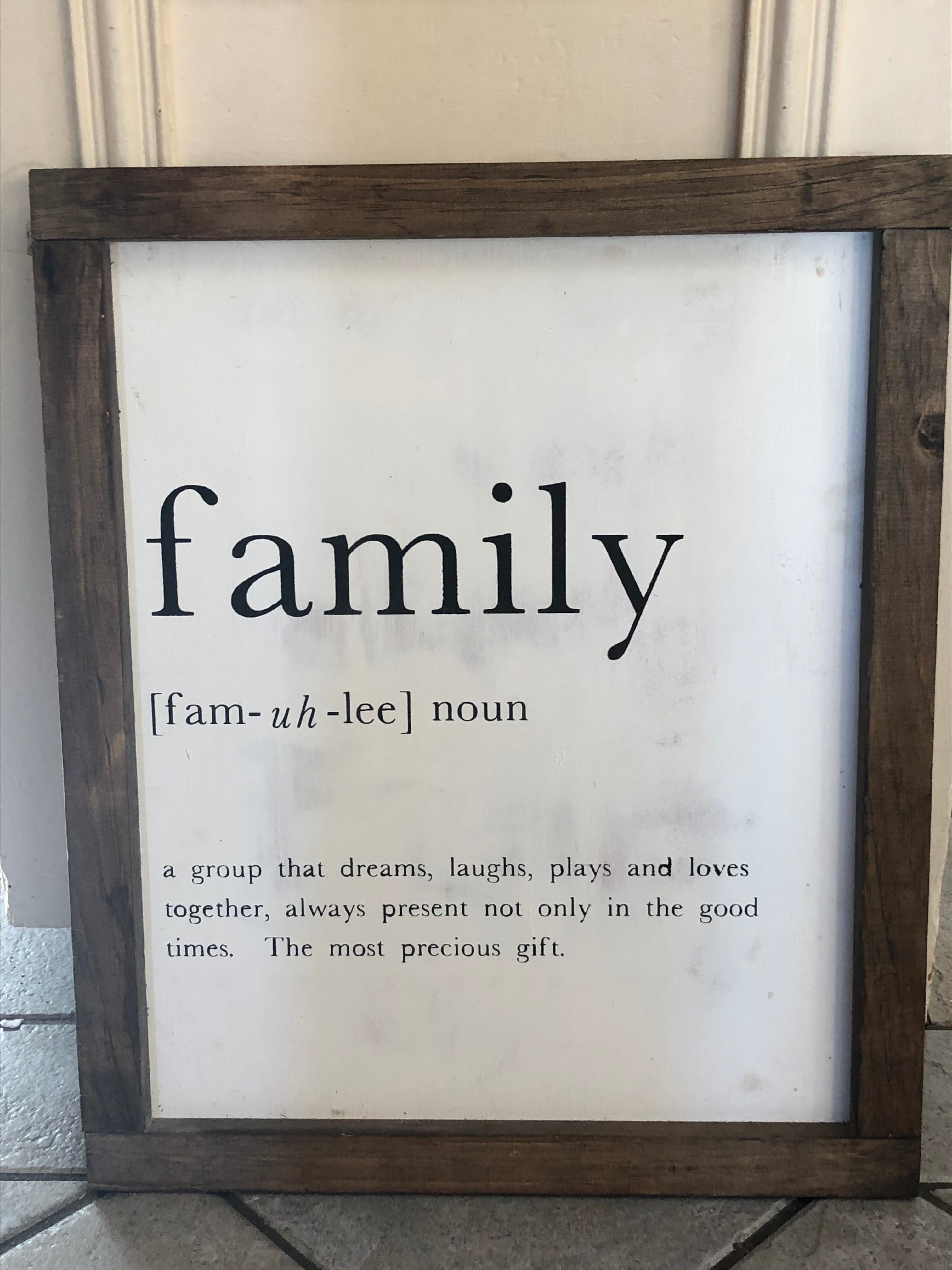 Family: Definition