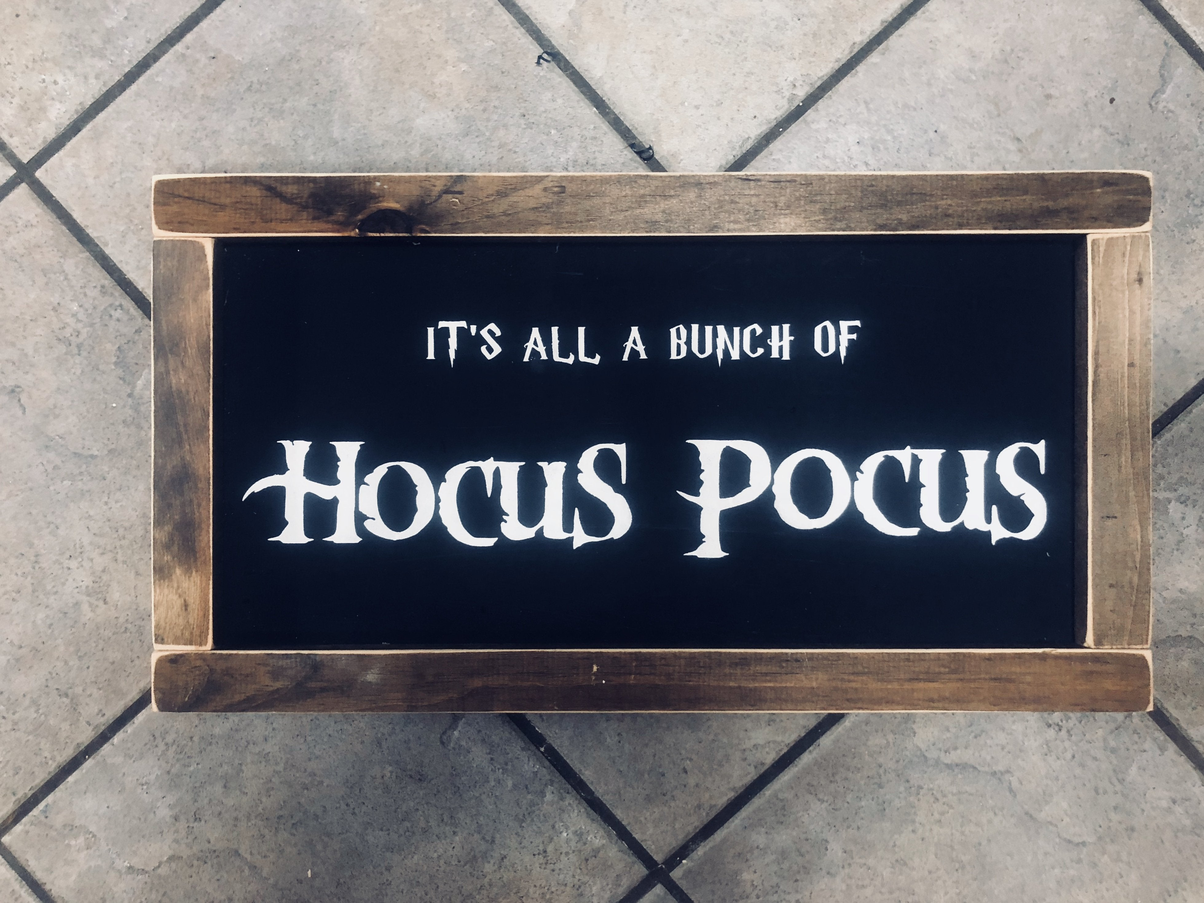 It's All A Bunch of Hocus Pocus