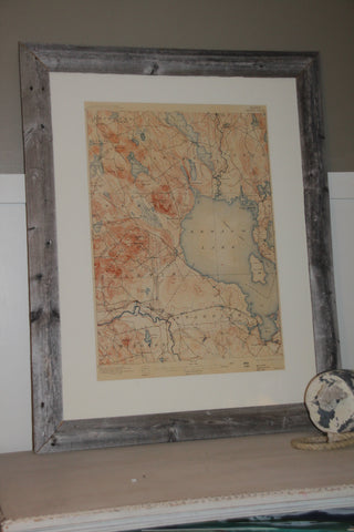 Sebago Map - Barnwood