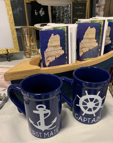 Captain & First Mate Mugs