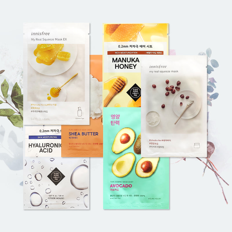 Winter Pflege-Set | Skincare | Korean skincare | sheet masks | kbeauty | My real squeeze mask | Therapy Air Mask | gesichtspflege | koreanische | gesichtspflege | koreanische pflegeprodukte | hautpflege | Eonni
