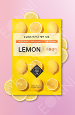 Etude House 0.2mm Therapy Air Mask Zitrone Tuchmaske