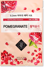 Etude House 0.2mm Therapy Air Mask Granatapfel Tuchmaske