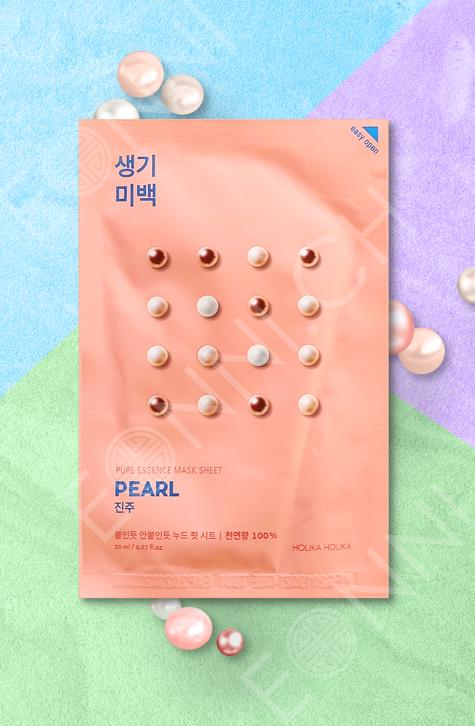 Holika Holika Pure Essence Mask Sheet Pearl Sheet Mask