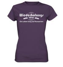 Laden Sie das Bild in den Galerie-Viewer, Wiederholungstäter-Ladies Premium Shirt