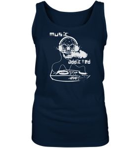 Music addicted-Ladies Tank-Top
