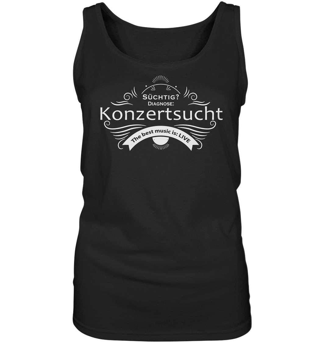 Konzertsucht-Ladies Tank-Top