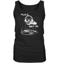 Laden Sie das Bild in den Galerie-Viewer, Music addicted-Ladies Tank-Top