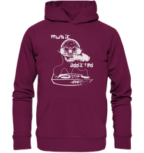 Laden Sie das Bild in den Galerie-Viewer, Music addicted-Premium Unisex Hoodie