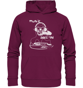 Music addicted-Premium Unisex Hoodie