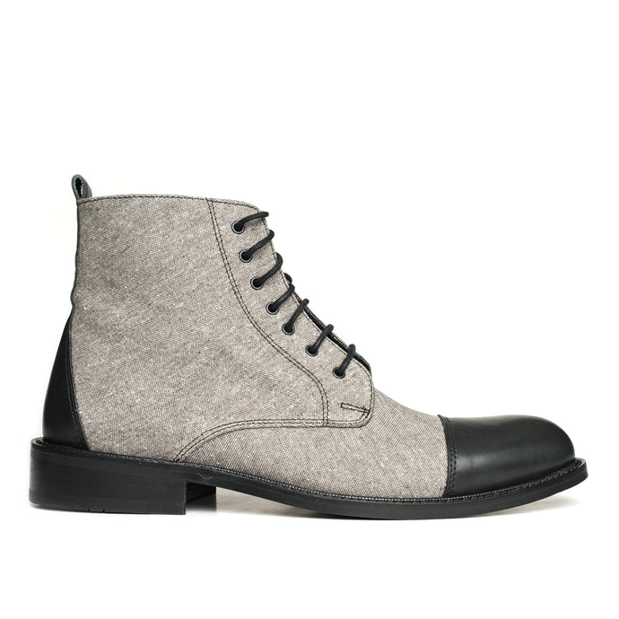 THE GENTLEMAN BOOT Gray and Black
