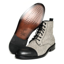 Load image into Gallery viewer, THE GENTLEMAN BOOT Gray and Black