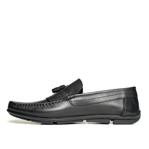 THE LEISUREMAN With Fringe and Holes Black