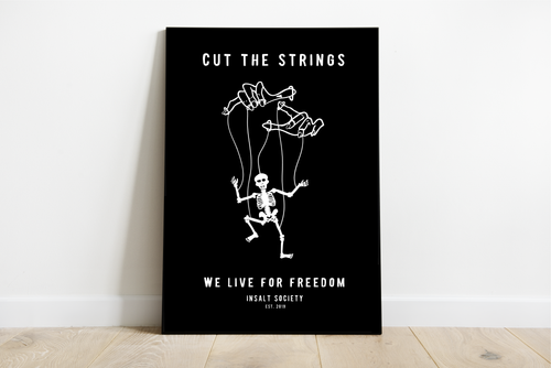 Cut the Strings Life Print