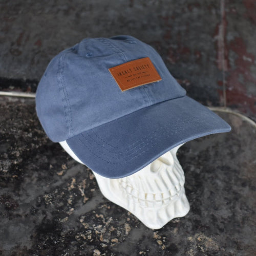 Bottle Blue Patch Cap