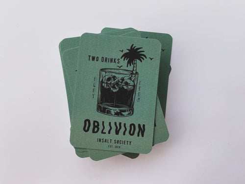 Oblivion Playing Cards