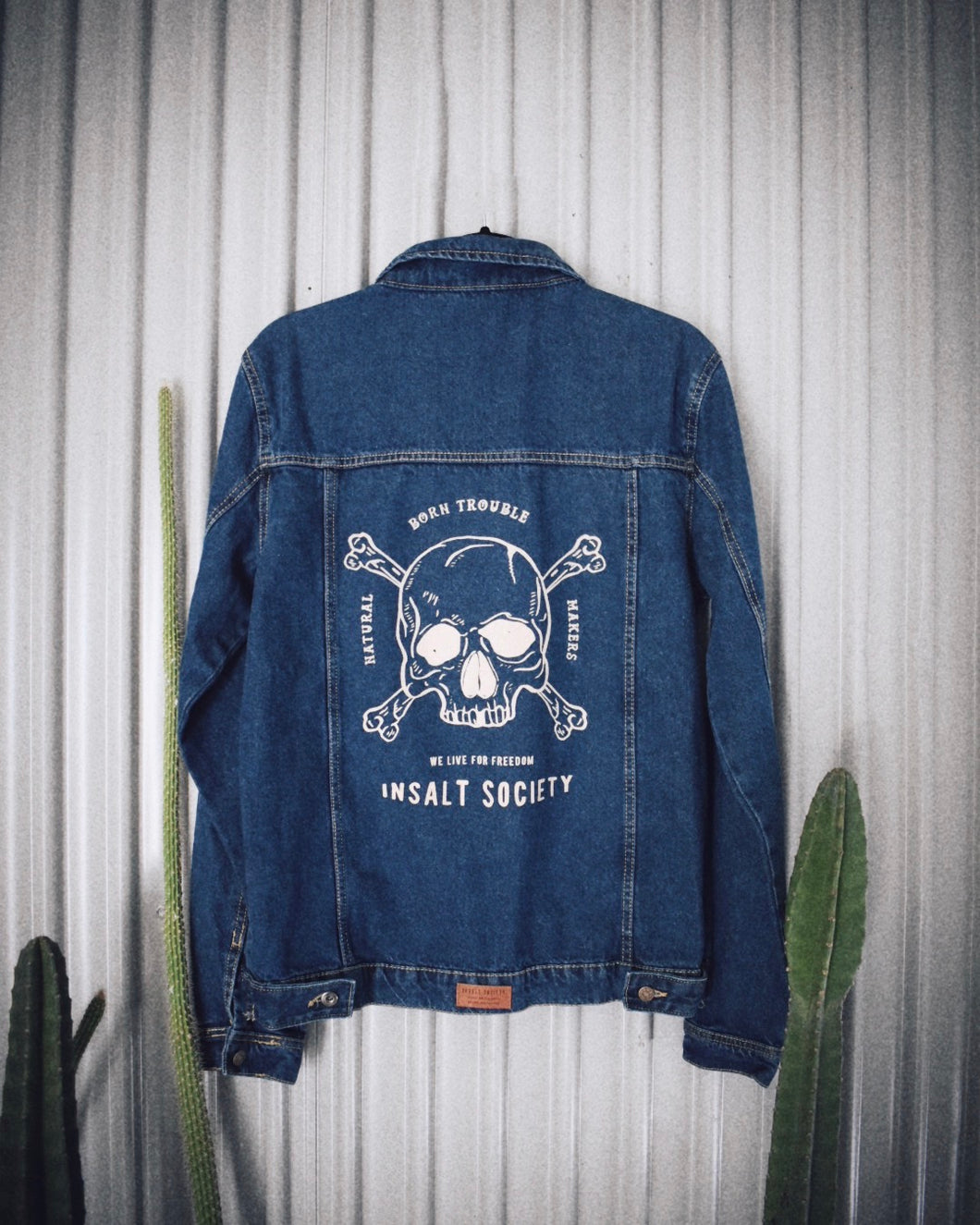 Trouble Makers Classic Blue Denim Jacket