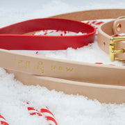 CANDY CANE COLLECTION LEAD | RED + NUDE