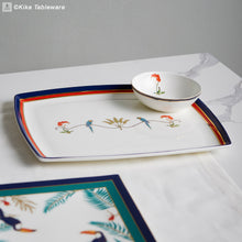 Load image into Gallery viewer, Kika Tableware Indian Marigold Bone China 24k Gold