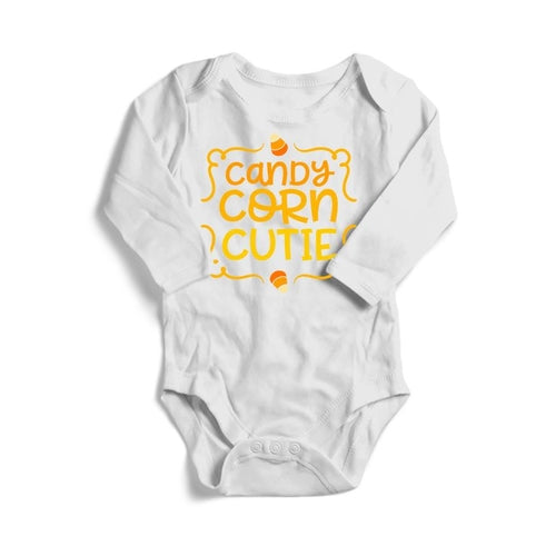 Candy Corn Cutie Halloween Baby Long Sleeve