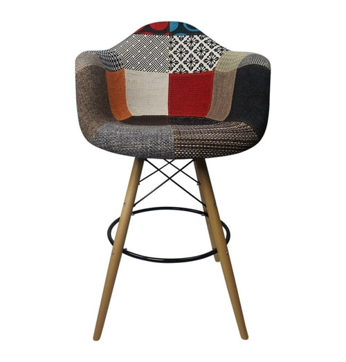 DAW Patchwork F - Bar Eiffel Armchair Stool -
