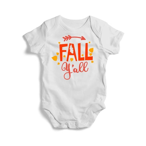 Fall-Y'all Baby Short Sleeve Bodysuit -