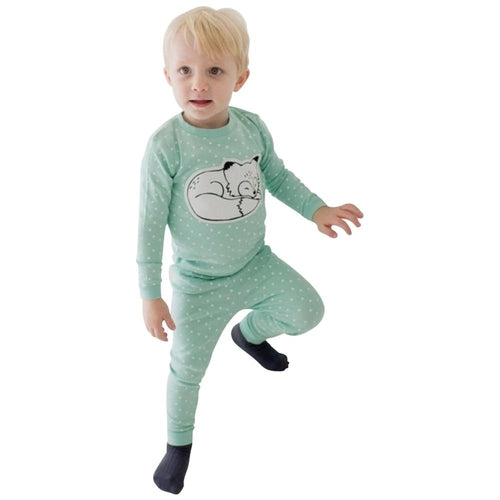Mint Fox Pajamas