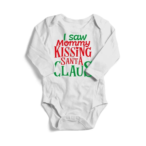 I Saw Mommy Kissing Santa Claus Christmas Baby