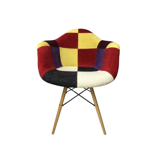 DAW Eiffel Patchwork Armchair - C - Reproduction |