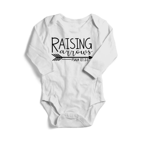 Raising Arrows Baby Long Sleeve Bodysuit