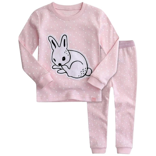 Pink Rabbit Pajamas