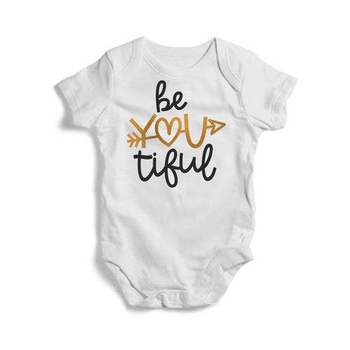 Be You Tiful Baby Short Sleeve Bodysuit