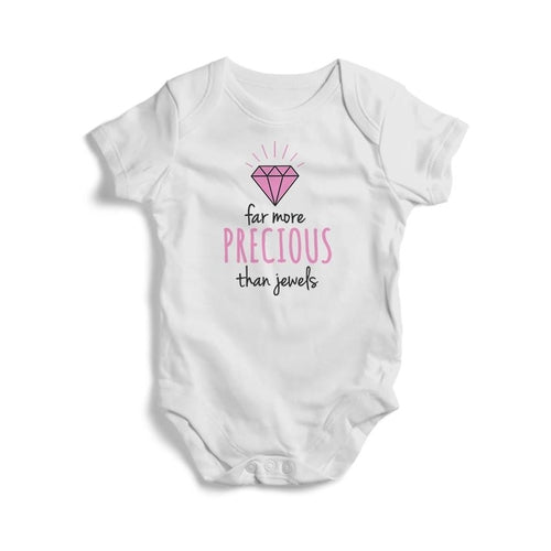 Far More Precious Than Jewels Baby Short Sleeve