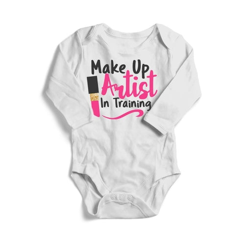 Make Up Artist in Training Baby Long Sleeve