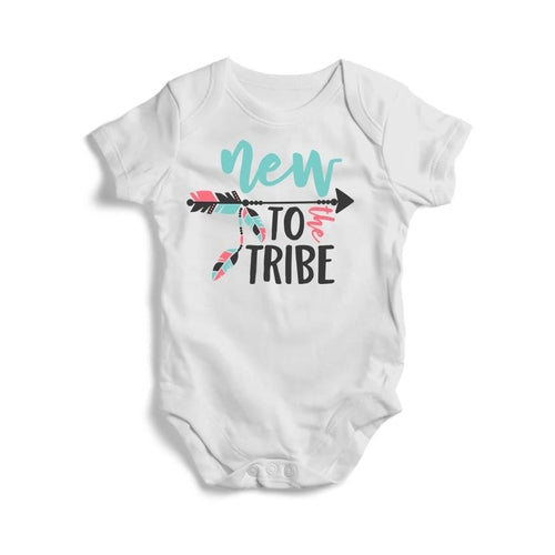 New to The Tribe Baby Short Sleeve Bodysuit
