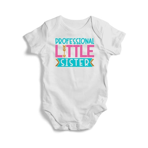 Professional Little Sister Siblings Baby Short