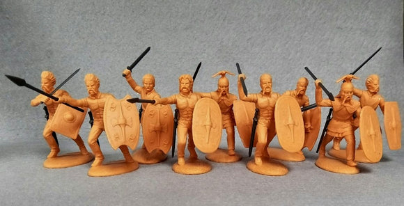 Expeditionary Force Wars of the Roman Empire Celtic Warband at the Charge Set