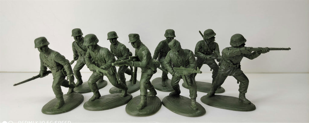Expeditionary Force World War II German Rifles Assault Section Late War