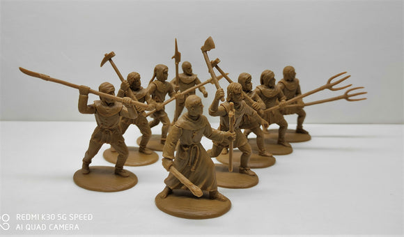 Expeditionary Force Wars of the Middle Ages Peasants Civilians with Monk