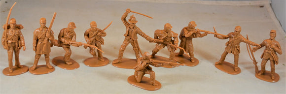 Accurate Civil War Confederate Infantry Set 1 Butternut
